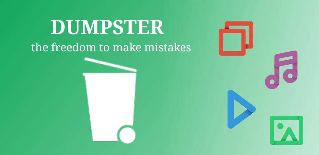 دانلود برنامه بازیابی عکس و فیلم برای اندروید Dumpster Premium 2.15.278