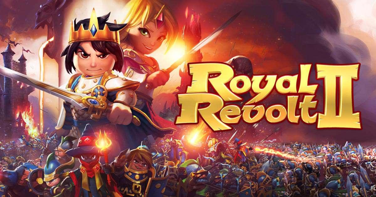 دانلود بازی جذاب Royal Revolt 2 _V3.8.1 برای اندروید