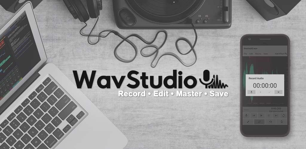 دانلود برنامه ضبط و ویرایش صوت WavStudio Audio Recorder & Editor v1.0.42 Pro  برای اندروید