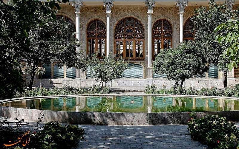 عمارت مسعودیه تهران، نخستین موزه و کتابخانه ایران
