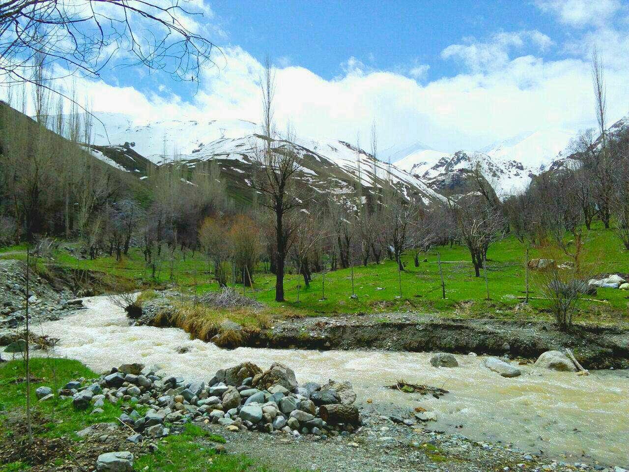 روستای کرکبود طالقان، نقطه اوج طبیعتی زیبا