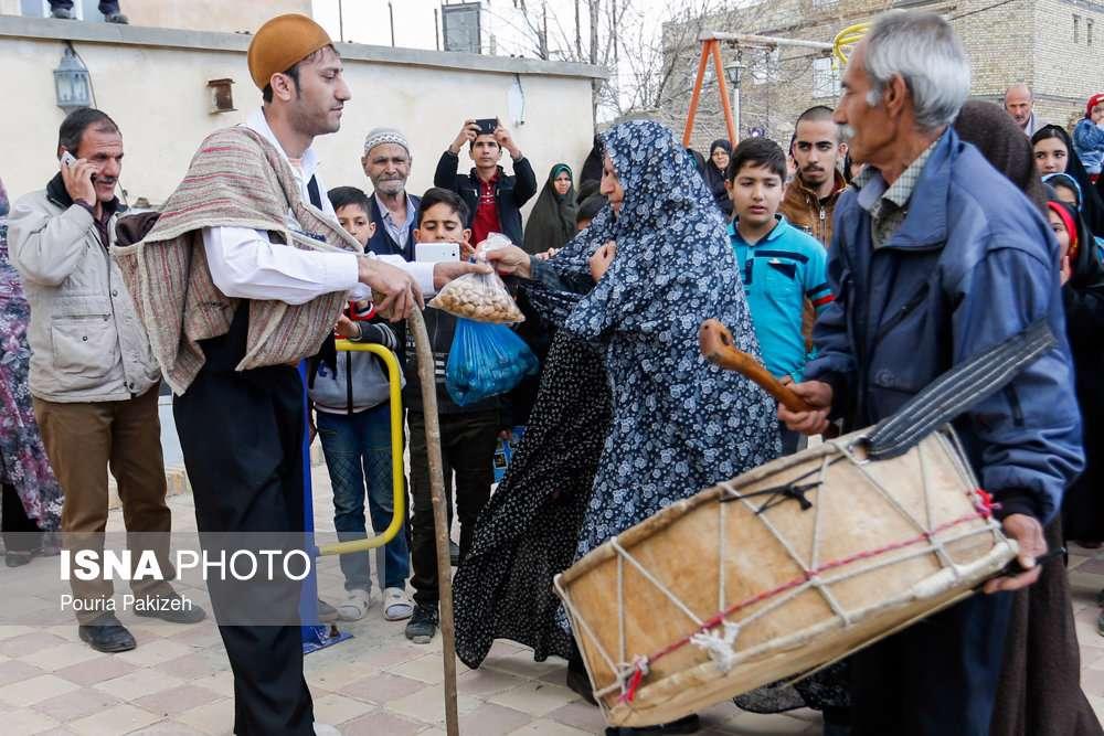 """آیین سنتی """"کوسه گلین"""" در روستای آبشینه همدان"""
