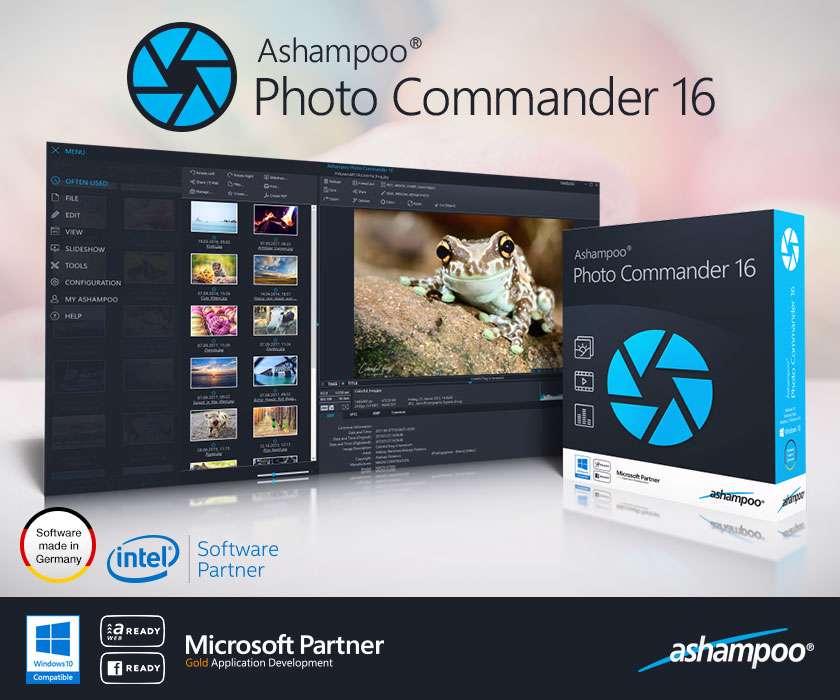 دانلود برنامه Ashampoo Photo Commander 16.0.2 برای ویرایش تصاویر