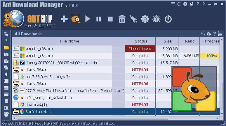 دانلود برنامه مدیریت دانلود مورچه Ant Download Manager Pro 1.7.7 Build 50074