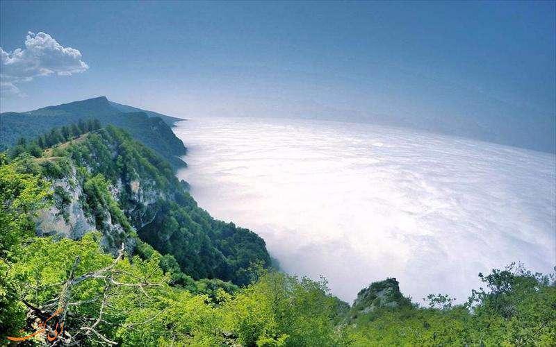 منطقه ییلاقی درازنو، روستایی بر فراز ابرها