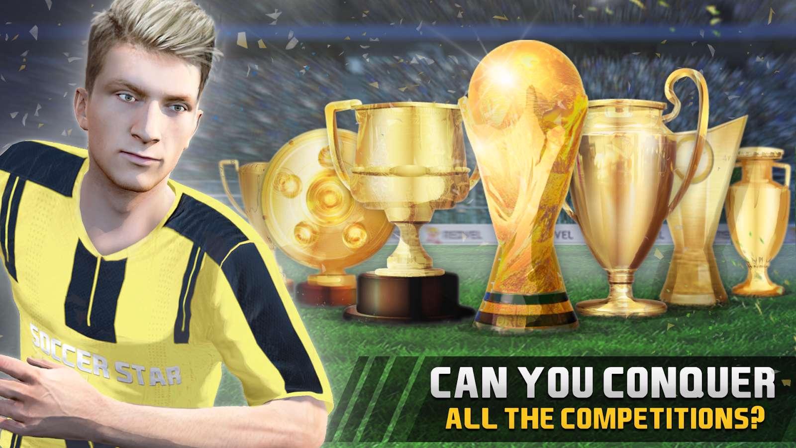 دانلود بازی فوتبال Soccer Star 2018 Top Leagues 1.3.5 برای اندروید