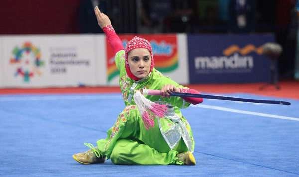 ویدئو / قهرمان زن ایرانی در جاکارتا