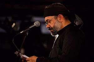 مداحی محمود کریمی در شب عاشورا