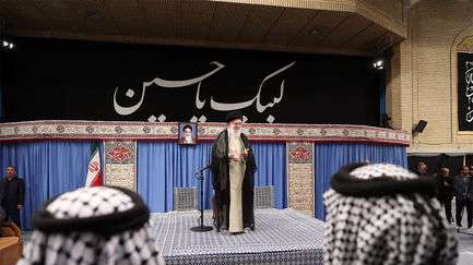 قدر دانی امام خامنهای از مهماننوازی موکبداران عراقی