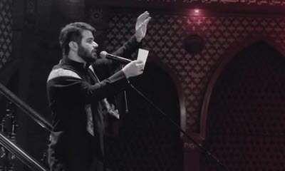 مداحی عربی میثم مطیعی در بصره عراق