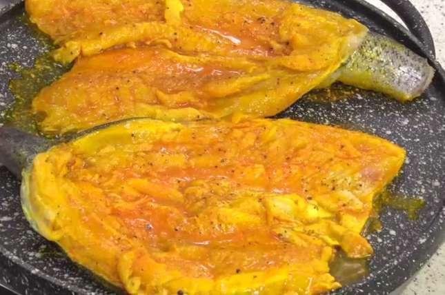 طرز پخت دلمه ماهی و سرآشپز سامان گلریز