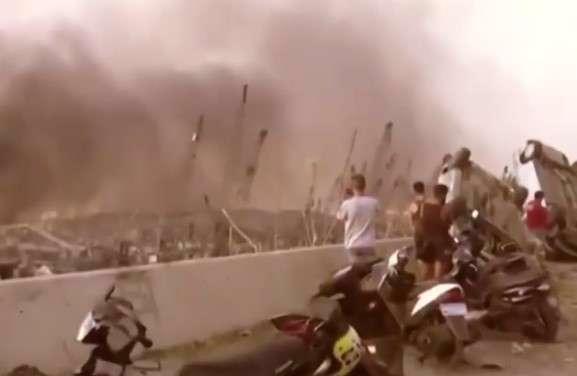 کلیپ آهنگ عربی در مورد انفجار بندر لبنان