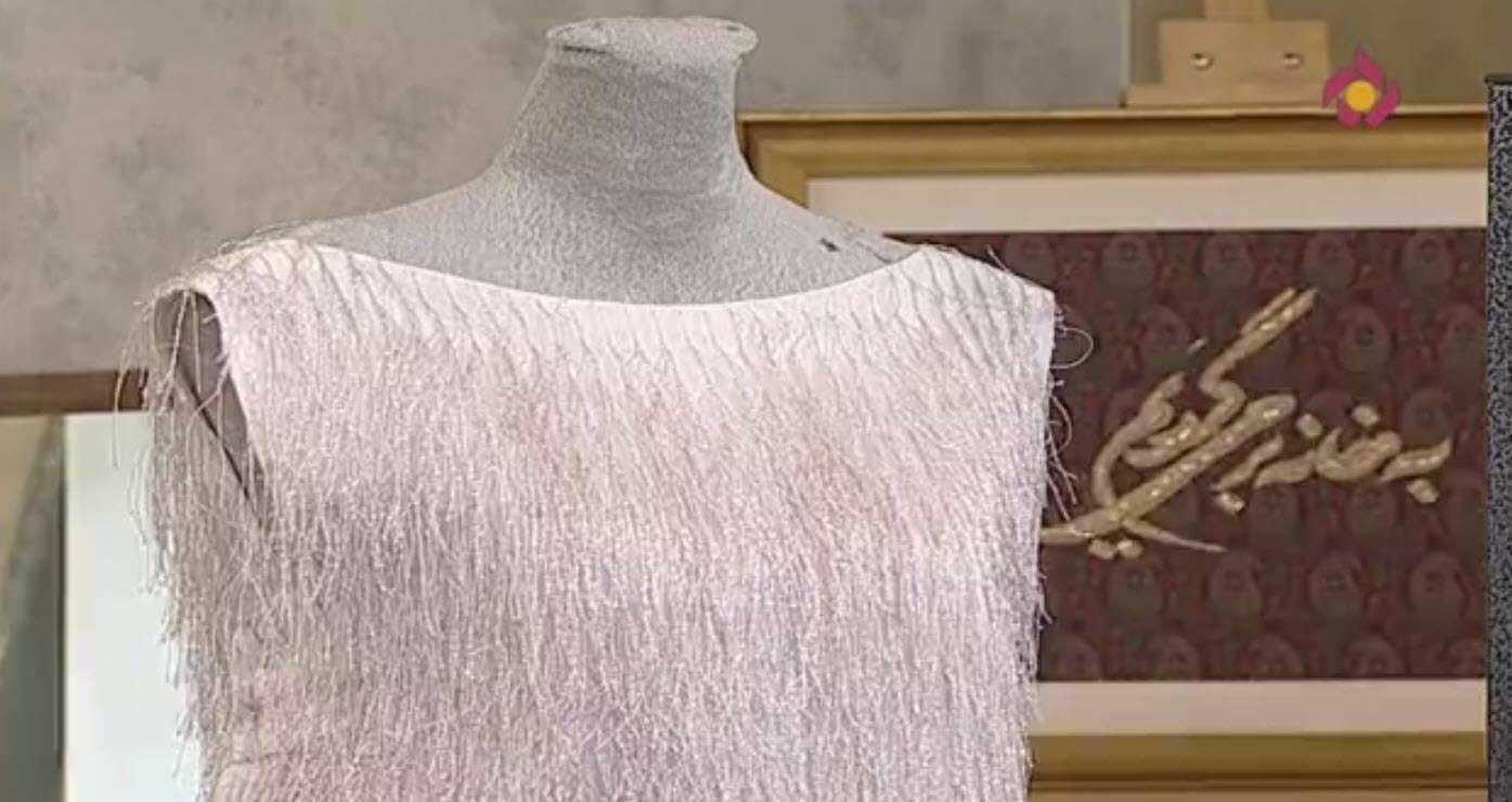 ادامه دوخت لباس مجلسی | خانم عابدی