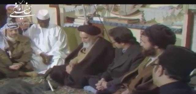 سخنرانی امام خمینی در جمع سفرای خارجی هیئت بررسی جنگ تحمیلی