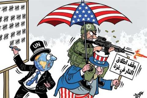 وظیفه سازمان ملل در جنگ غزه
