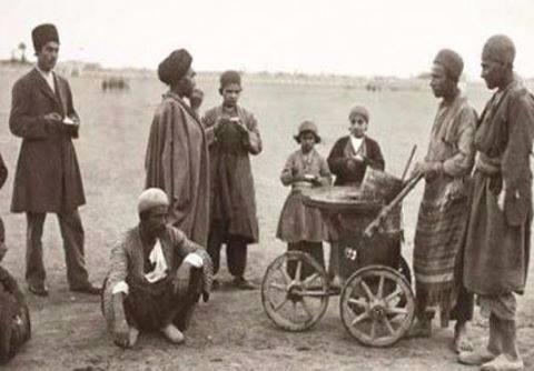 اولین-بستنی-در-ایران