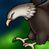 کبوتر مهربان و عقاب