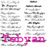 Handritting Fonts