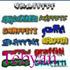 Set of 300 exclusive fonts graffiti