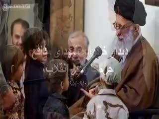 📽ببينيد| تصاويری از ديدار خانواده شهدای مدافع حرم با رهبرانقلاب. ۹۵/۹/۱