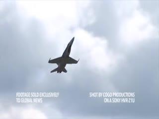🎥خروج اضطراری خلبان  قبل از سقوط