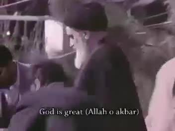 سخنان تاریخی امام خمينی در بدو ورود به ایران