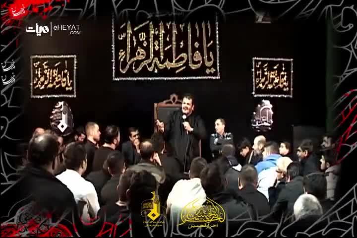 کلیپ روضه خوانی حاج حیدر خمسه ایام فاطمیه (اختصاصی هیات)