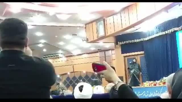 اعتراض به خانم ابتکار توسط نماینده اهواز