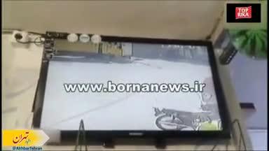 لحظه ربودن دختربچه 8 ماهه در مشیریه تهران