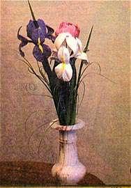 آموزش گلهای چرمی