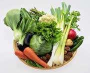 پوست سبزیجات را جدا نکنید