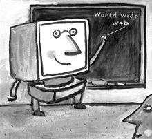 مدرسه ای به نام اینترنت