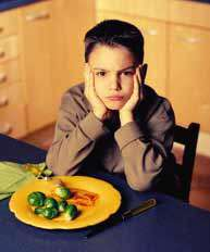 با کودک بد غذا چه باید کرد ؟