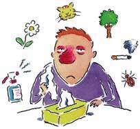 انواع بیماری آلرژی (حساسیت)