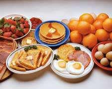 یک هفته برنامه ی غذایی برای سحری و افطار