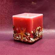 استفاده از شمع برای آذین میهمانی ها
