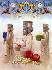 هفت « سین » مقدس در هفت سین ایرانى