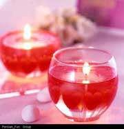 شمع های خیال انگیز ژله ای