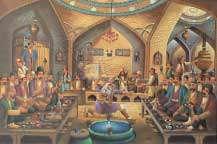 نقاشی قهوه خانه ای