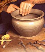 Pottery, Serene and Shapely