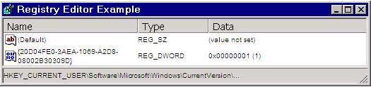 رجیستری ویندوز  (حذف آیکونMy ComputerازDesktop و منوی شروع)