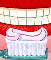 فلوراید پوسیدگی دندان را پنهان می کند