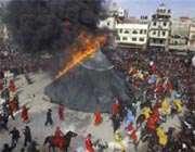 آتش زدن خیمه ها (9)