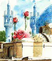 خروج سبايا الحسين ( ع ) من الكوفة إلى الشام