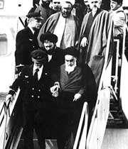 بیانات امام خمینی در بهشت زهرا  سال 57