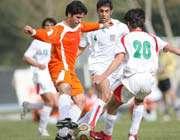 دیدار دوستانه تیم ملی امید ایران