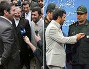 نظامیان انگلیسی با رئیس جمهور