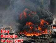 At least 56 pilgrims martyred in Karbala bomb blast