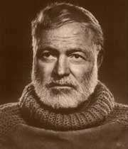picture of the Ernest Hemingway