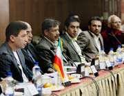کادر فنی تیم ملی در کنفرانس مطبوعاتی